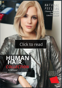 Human Hair Wigs Gisela Mayer catalog
