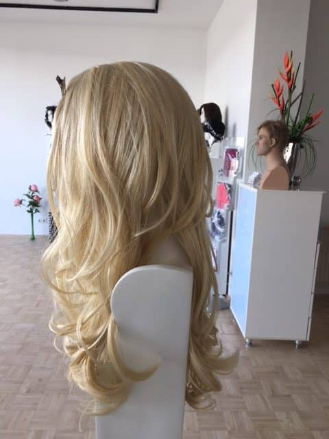 Wigs help you through the difficult period