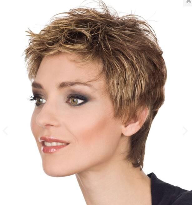 Frisur nach Beendigung Chemotherapie